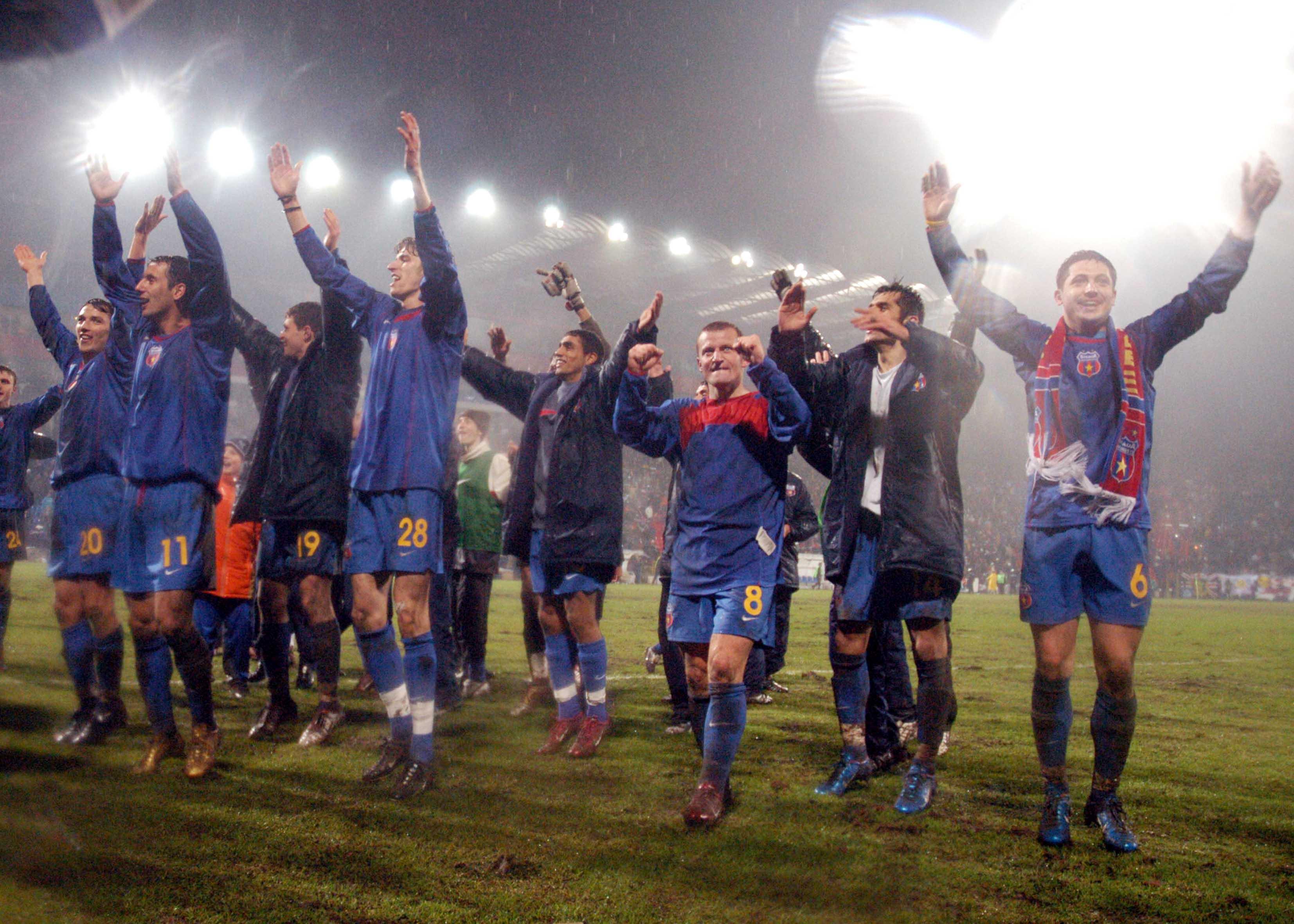 Roș-albaștrii înfăptuiau pe 24 februarie 2005 o nouă minune europeană, eliminând în șaisprezecimile Cupei UEFA, sub comanda lui Walter Zelga, deținătoarea en titre a trofeului, Valencia