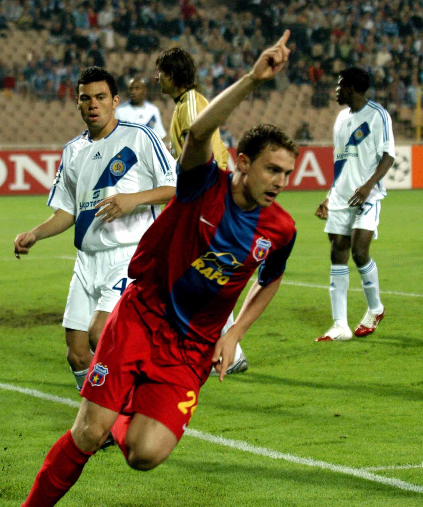 Sorin Ghionea a deschis, la Kiev, drumul spre singura victorie a roș-albaștrilor din ultimii 20 de ani în grupele UEFA Champions League, 4-1 pe terenul celor de la Dynamo Kiev.