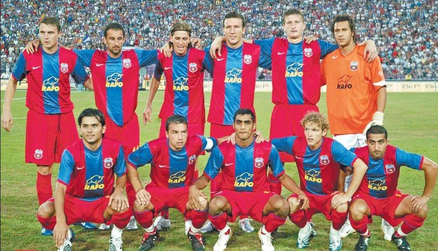 The starting line-up against Rapid, on April 6th 2006, a day that remains in the history of Romanian football. Steaua advanced to the semifinals of the UEFA Cup, after a 0-0 draw on the National Stadium