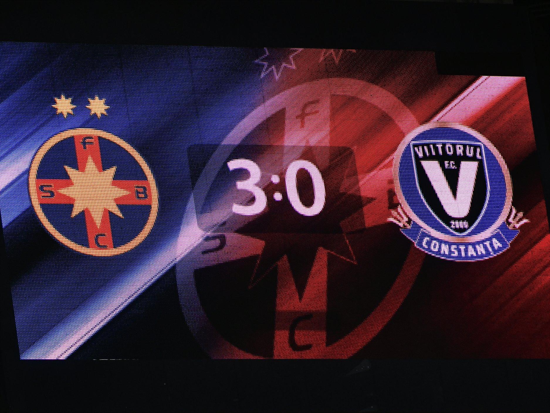 FCSB - VIITORUL 3-0