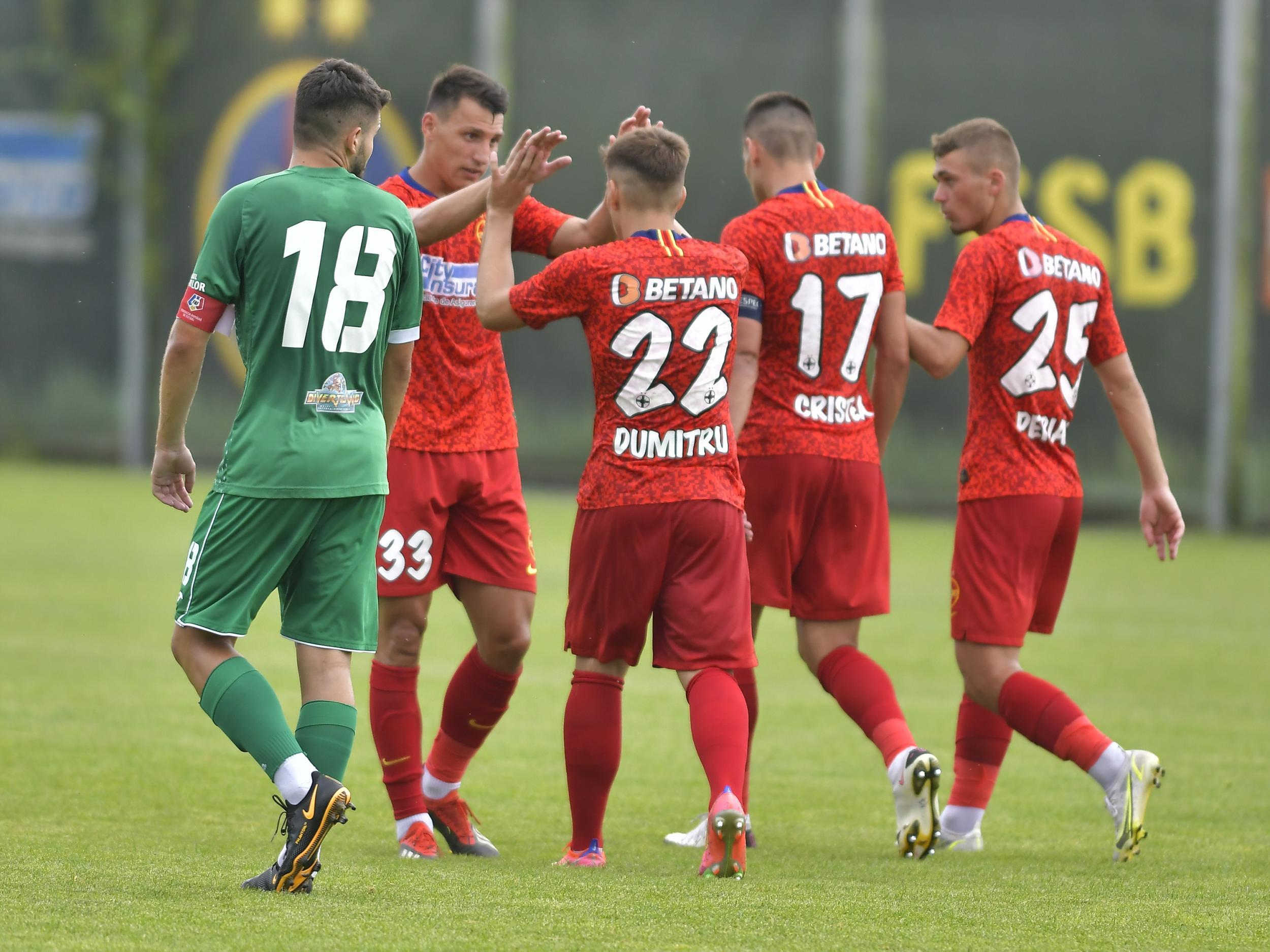 FCSB - CONCORDIA CHIAJNA 4-1