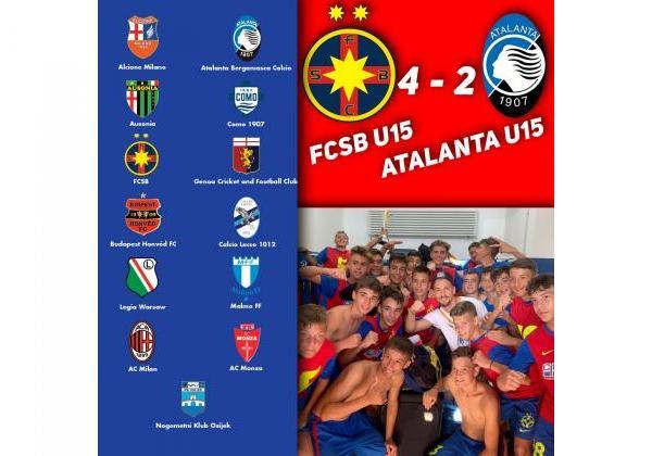 FCSB U15, campioana ZTE Cup!