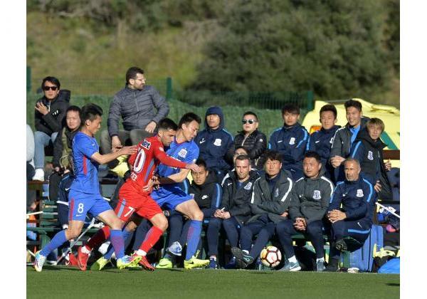 FCSB - SHANGHAI SHENHUA 2-2