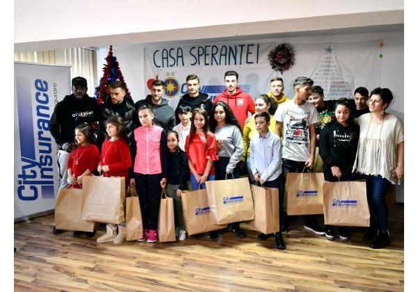 Gifts for the kids at Casa Speranței!