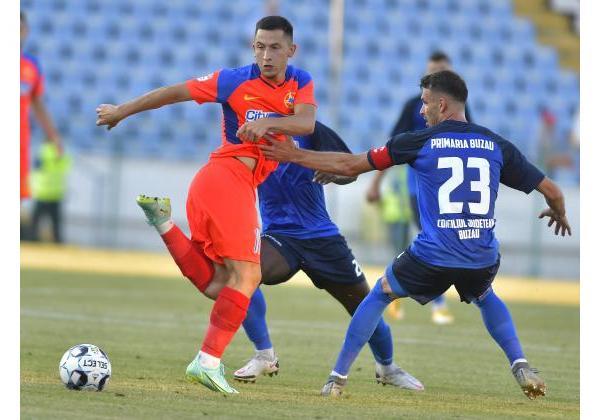 FC BUZĂU - FCSB 1-5
