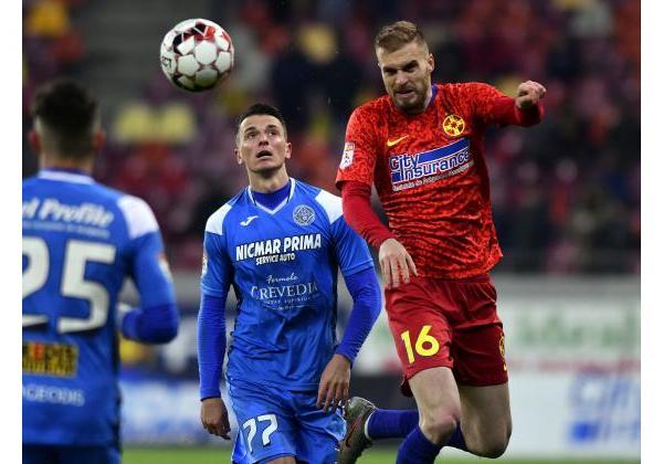 FCSB - ACADEMICA CLINCENI 0-0