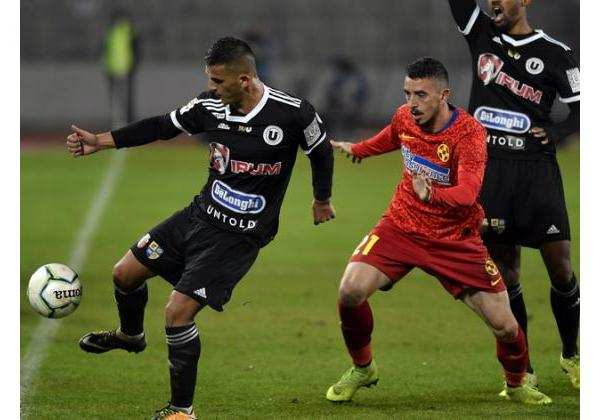 UNIVERSITATEA CLUJ - FCSB 0-1