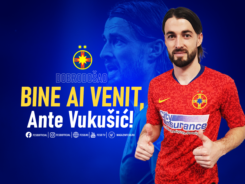 Welcome, Ante Vukušić!>