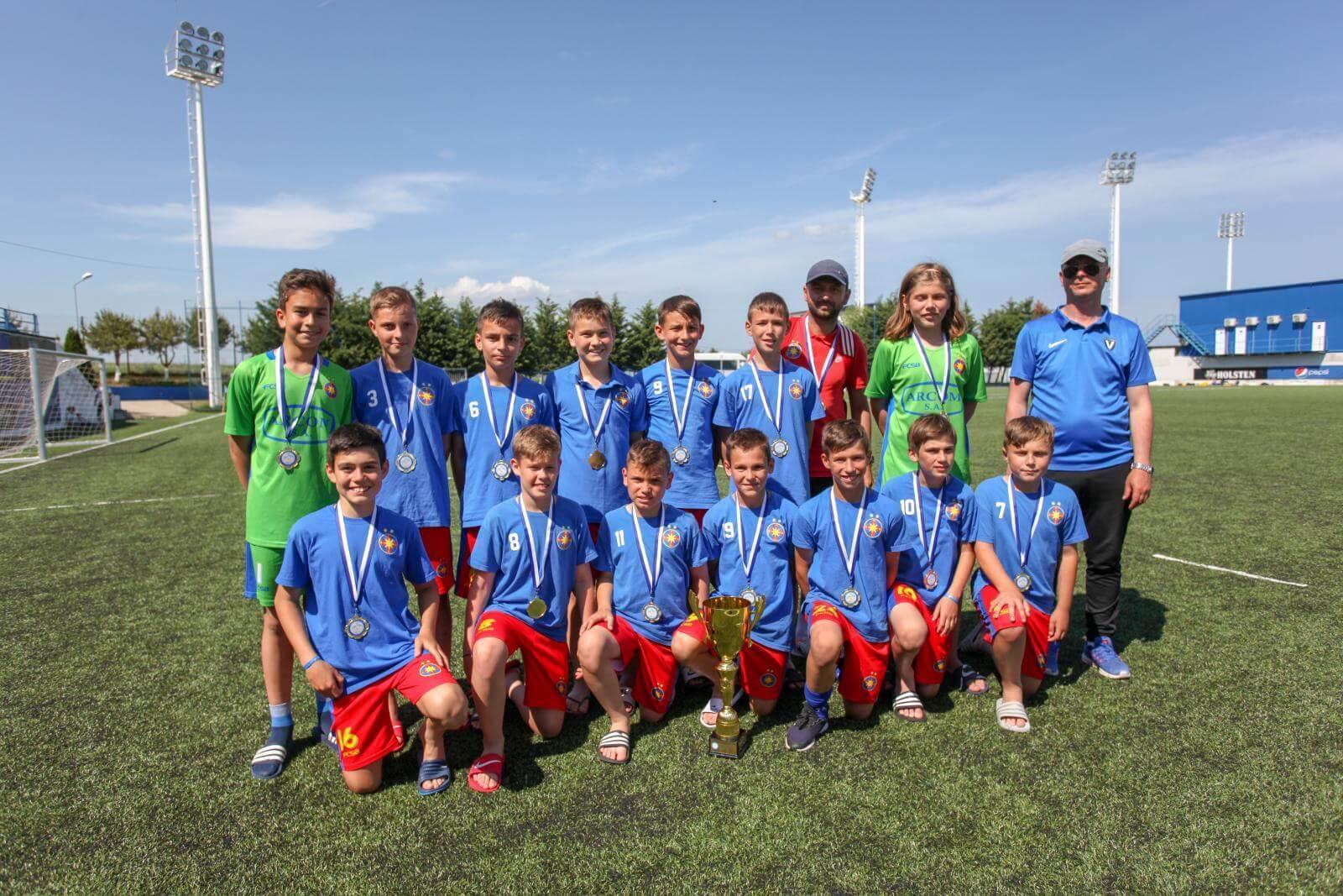 FCSB U12, câștigătoarea Dolphin Cup 2019!>