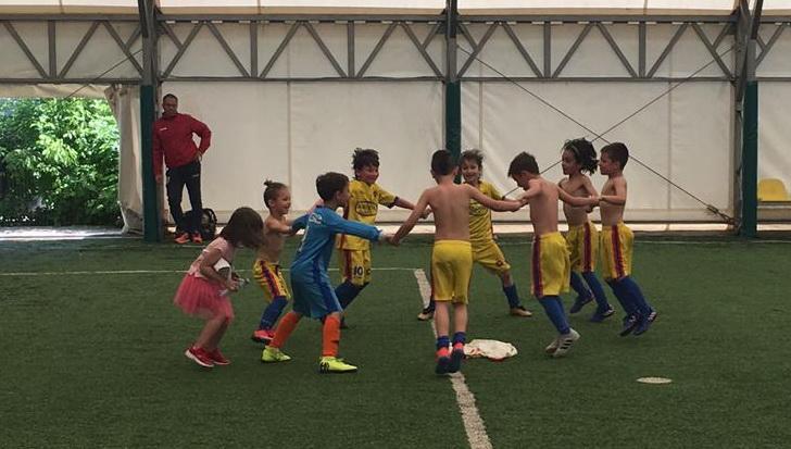 FCSB U8, Campioana Bucureștiului!>