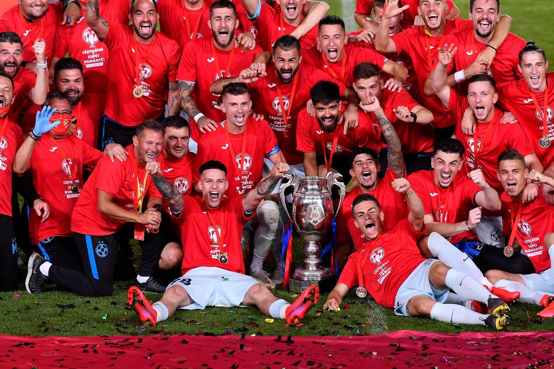 Cupa României este a noastră!>