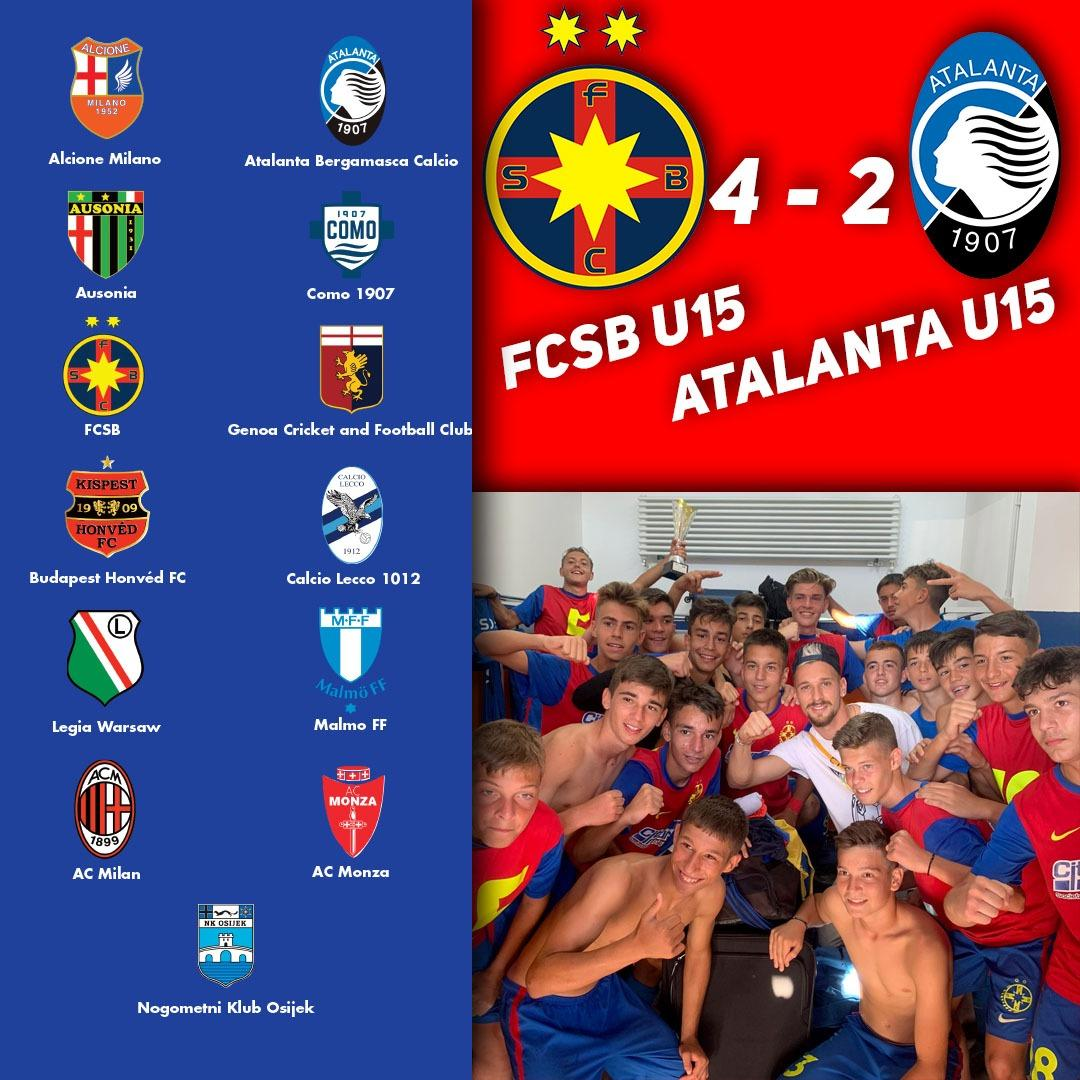 FCSB U15, campioană la ZTE Cup!>