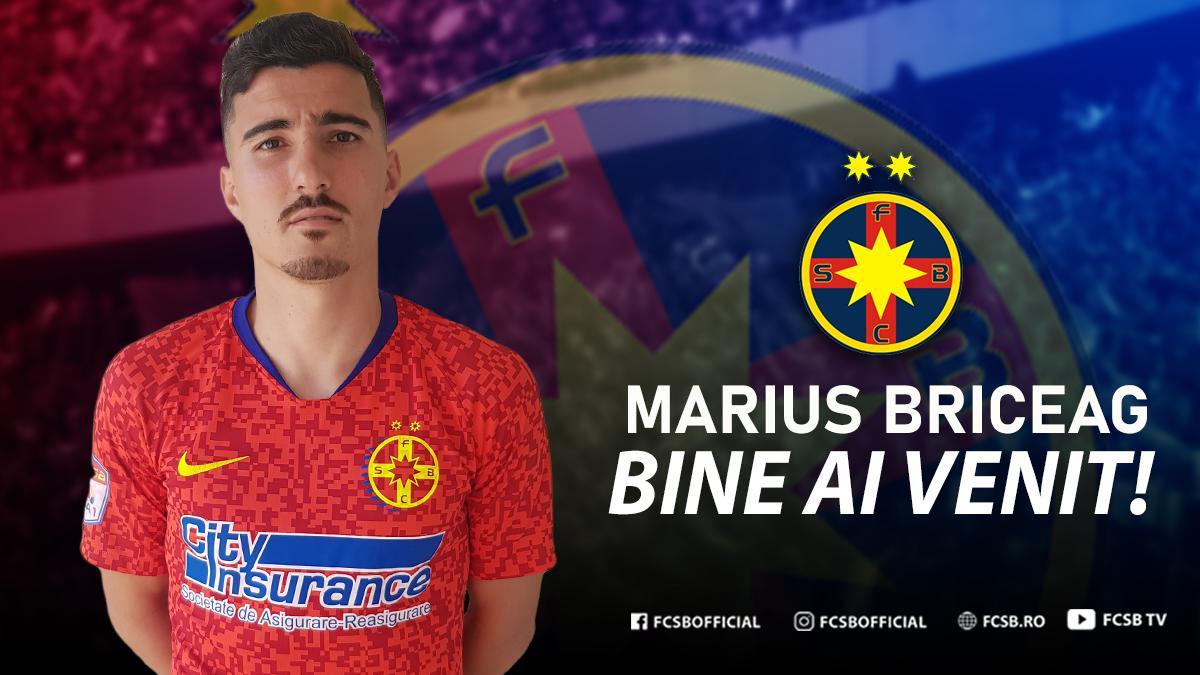 Bine ai venit, Marius Briceag!