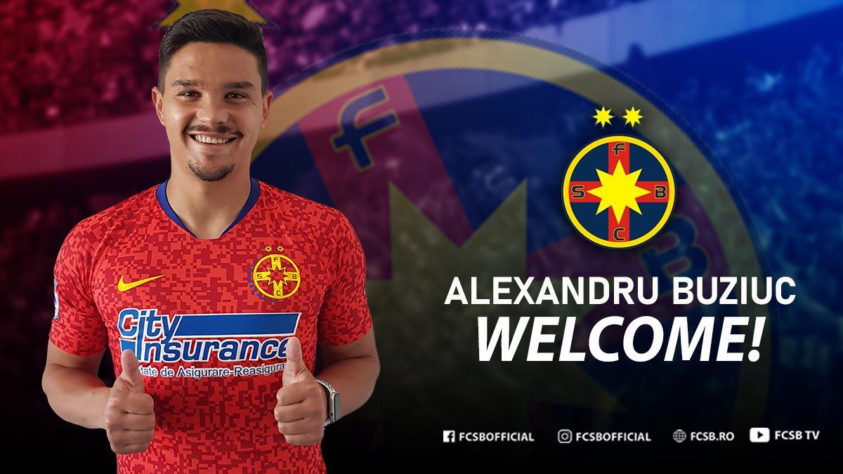 Welcome, Alexandru Buziuc!>