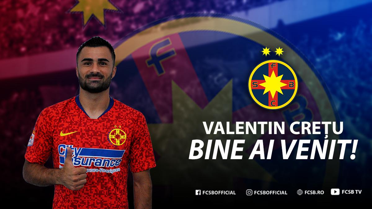 Bine ai venit, Valentin Crețu!>