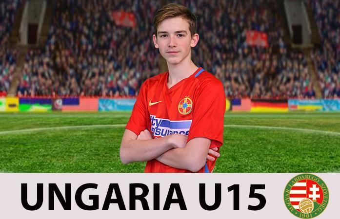 Daniel Csaki, selecționat la Ungaria U15!>