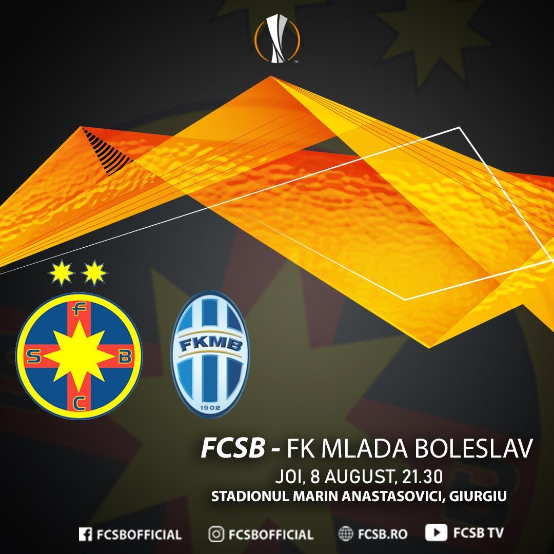FCSB - FK Mlada Boleslav, următorul duel european!>