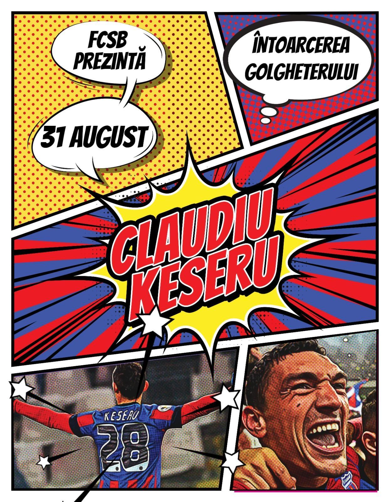 Bine ai revenit, Claudiu Keşerü!>