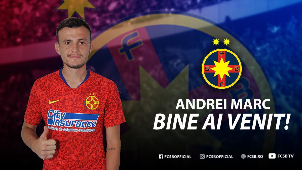 Bine ai venit, Andrei Marc!>