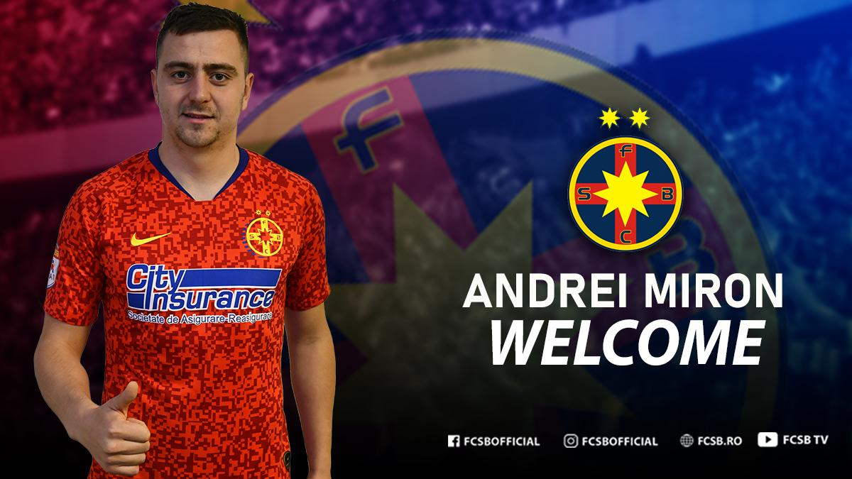 Welcome, Andrei Miron!>