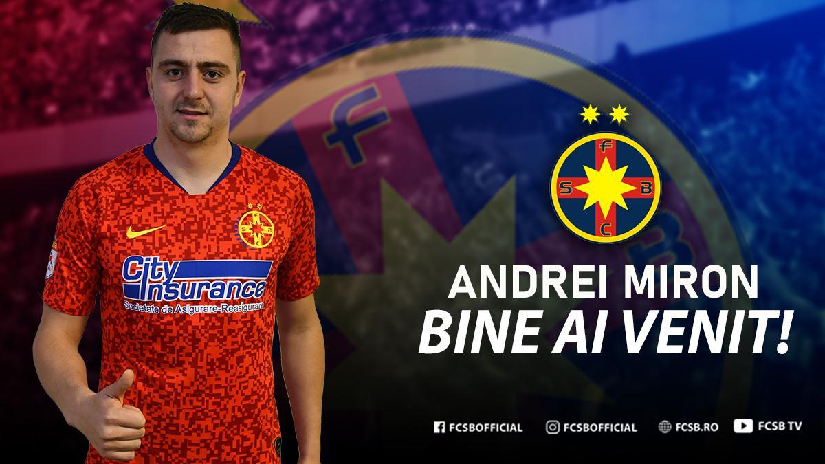Bine ai venit, Andrei Miron!