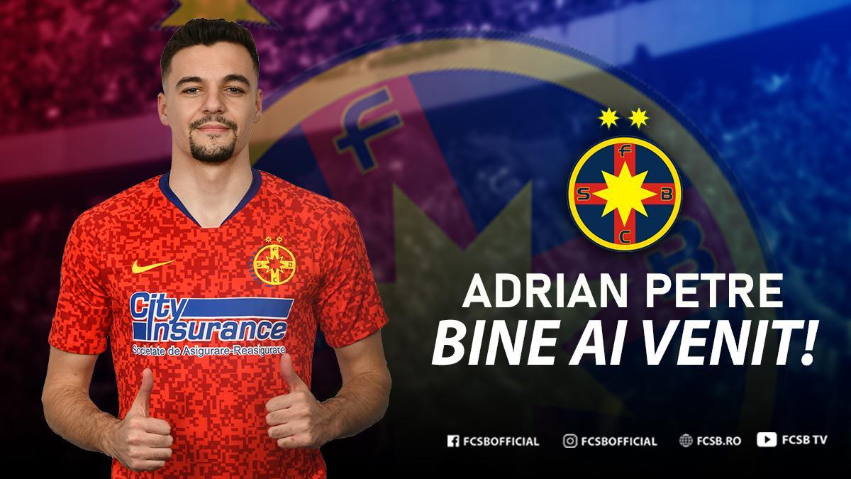 Bine ai venit, Adrian Petre!>