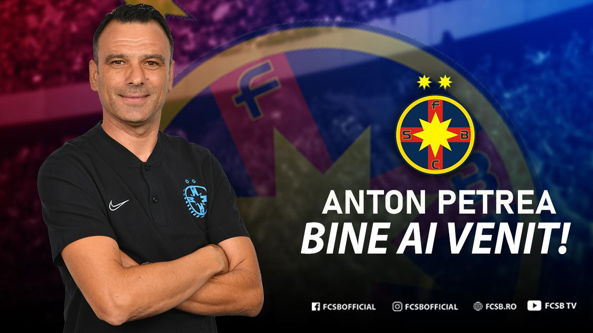 Anton Petrea, noul antrenor al FCSB!>