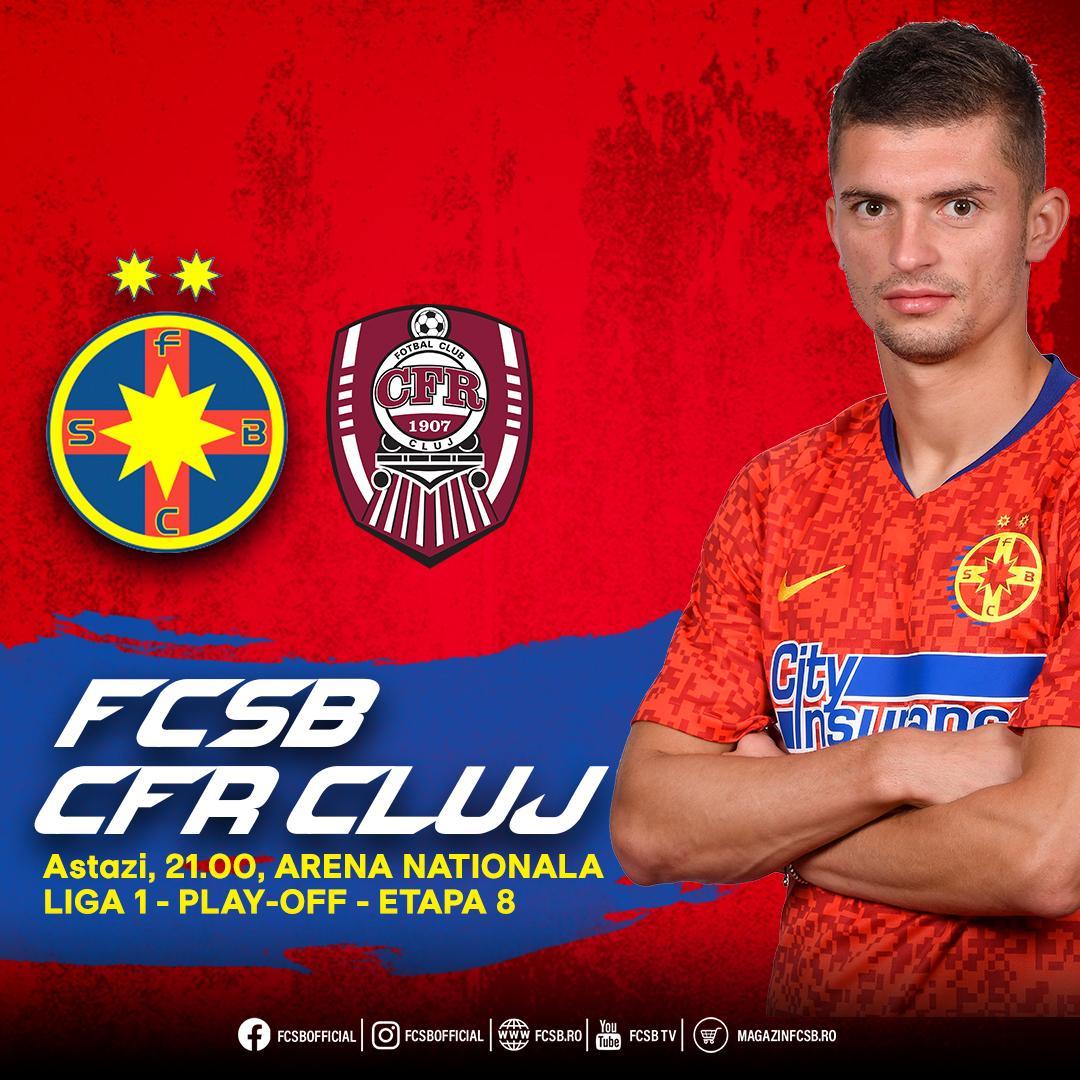 FCSB - CFR, amânat!>