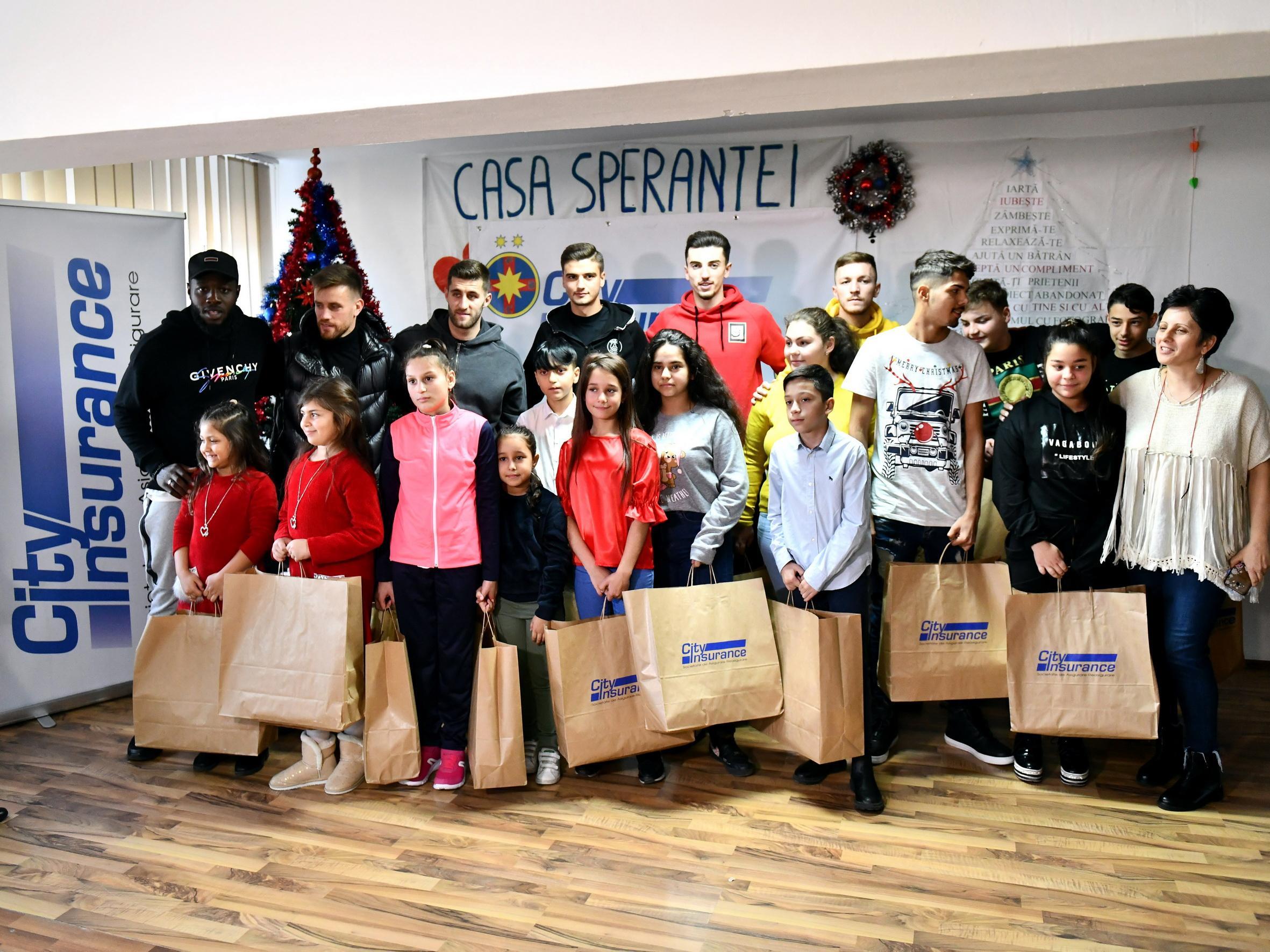 Cadouri pentru copiii de la Casa Speranței!>