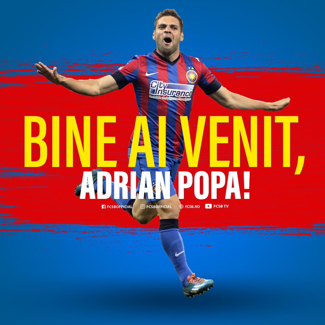 Bine ai venit acasă, Adrian Popa!>