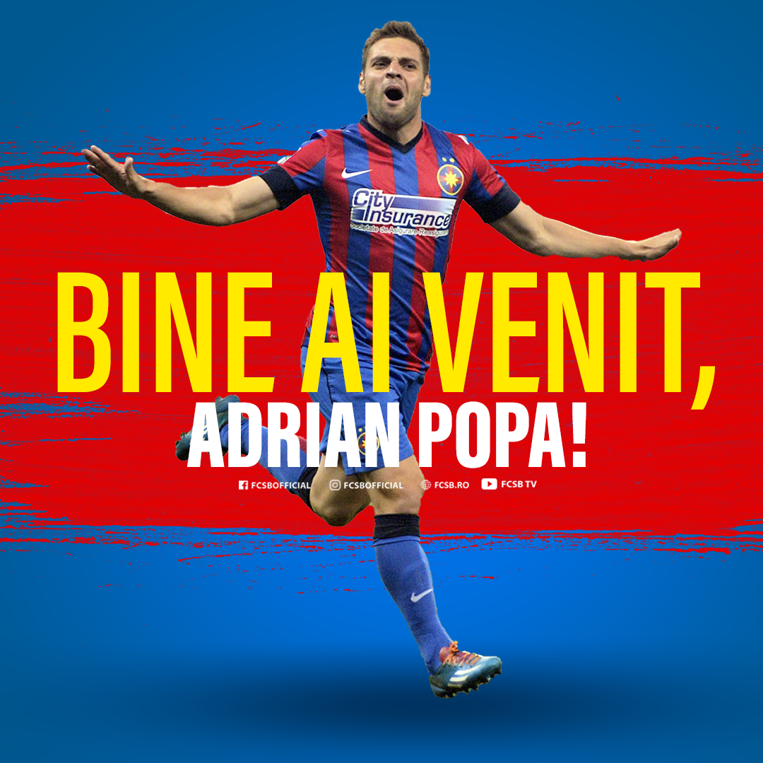 Welcome home, Adrian Popa!