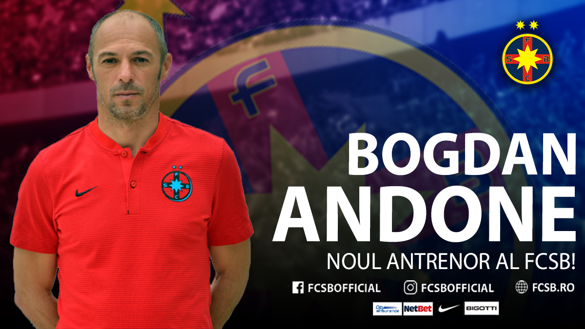 Bogdan Andone, the new Head Coach of FCSB!>