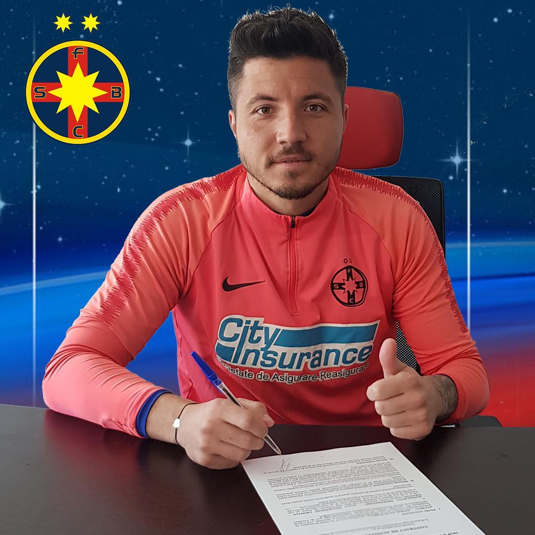 Cristian Bălgrădean, încă un an la FCSB!>