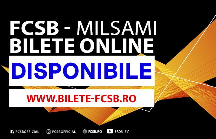 Online tickets for FCSB - Milsami!>
