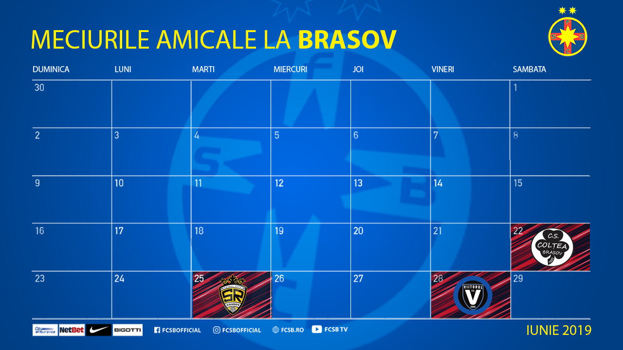 Three friendly games in Brașov!>
