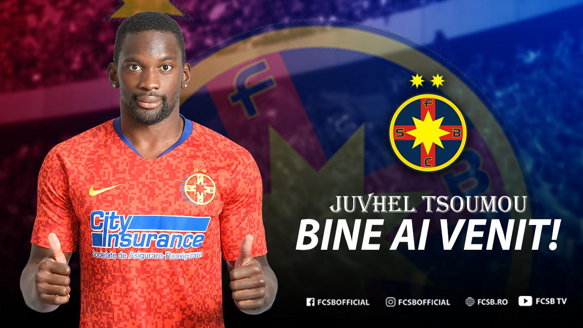 Bine ai venit, Juvhel Tsoumou!>