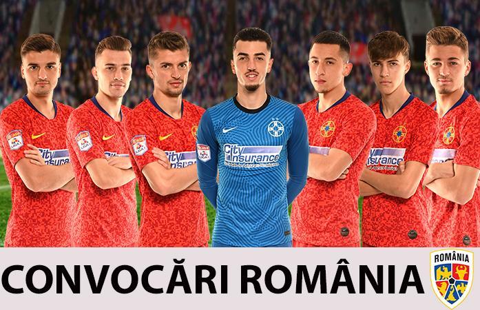Șapte jucători la loturile naționale!>