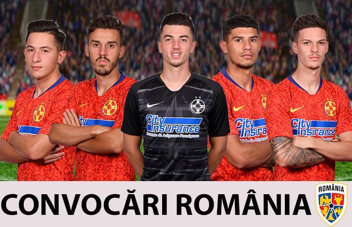 Cinci jucători convocați la echipele naționale!>