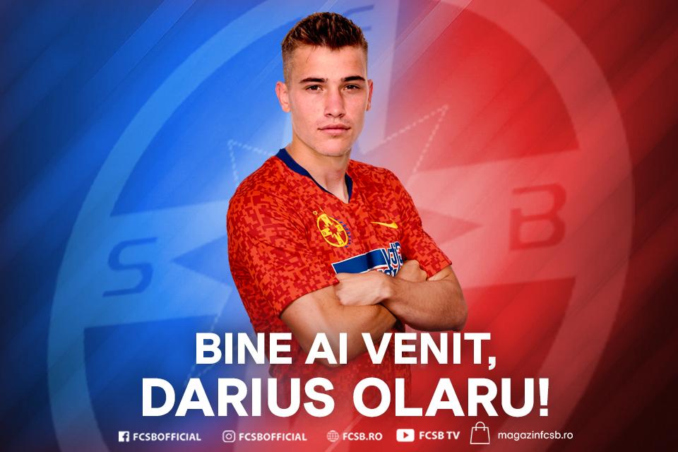 Bine ai venit, Darius Olaru!>