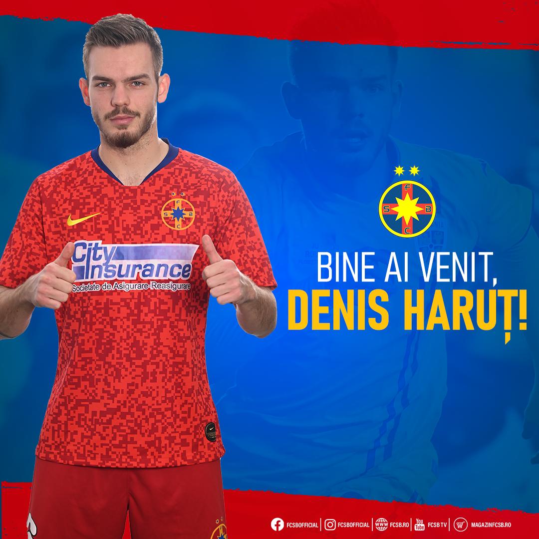 Bine ai venit, Denis Haruț!>