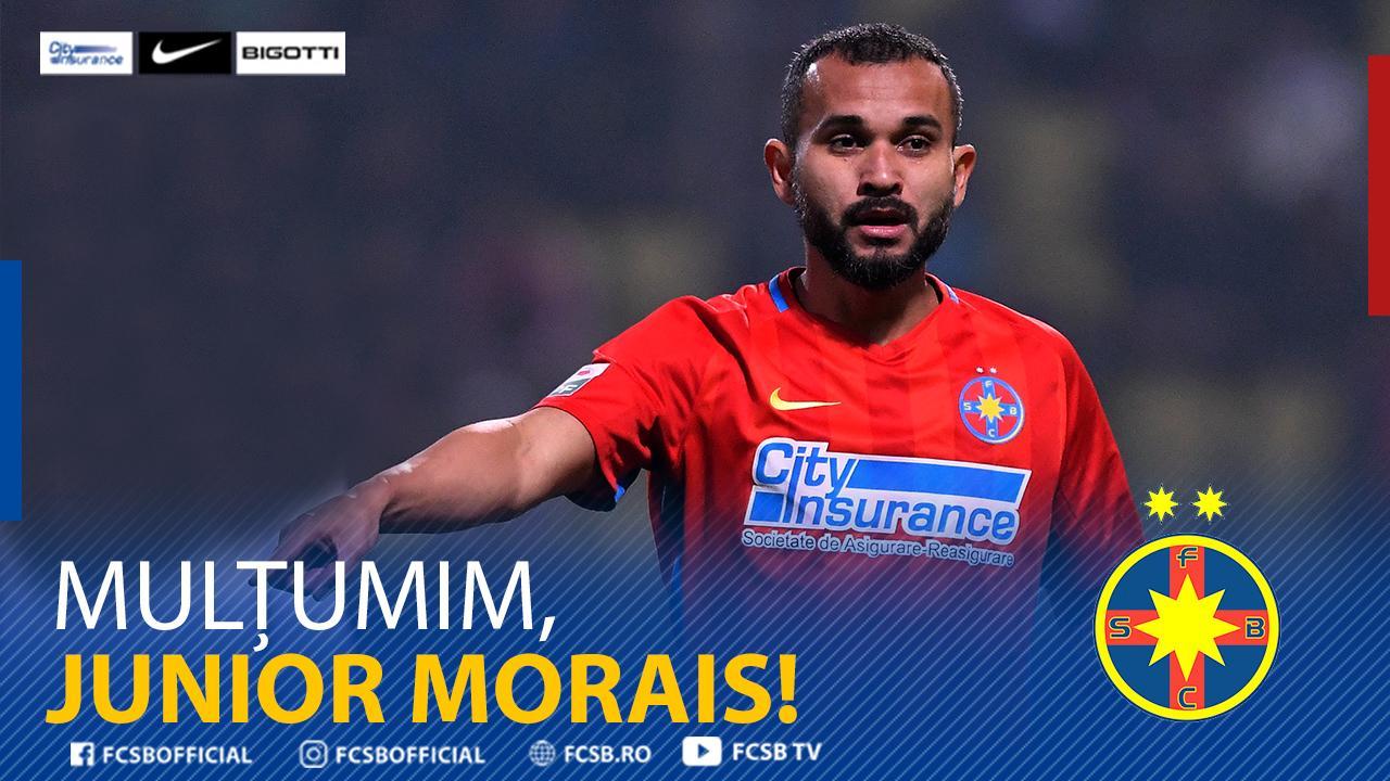 Mulțumim, Junior Morais!>