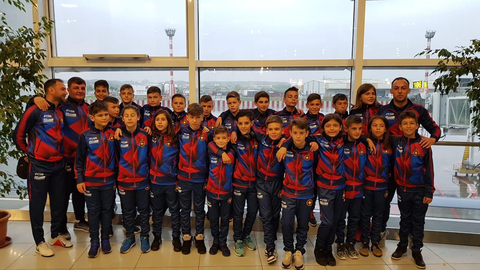 FCSB U12 și FCSB U11, invitate la Mundialito 2019!>