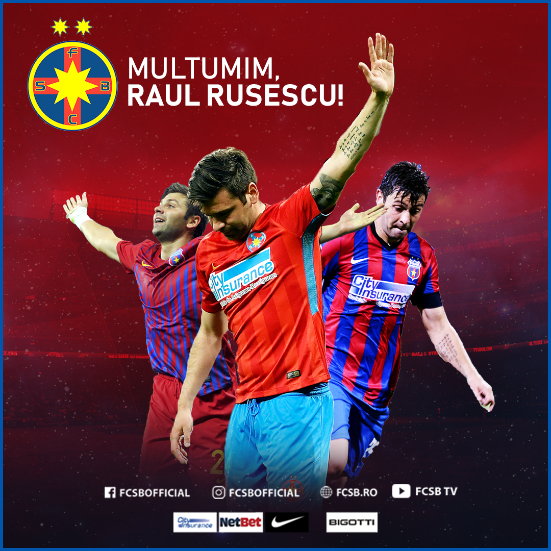 Mulțumim, Raul Rusescu!