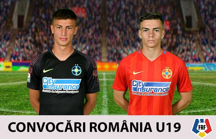 Ducan și Dumitru, în lotul României U19!>