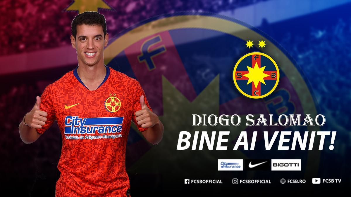 Bine ai venit, Diogo Salomao!>