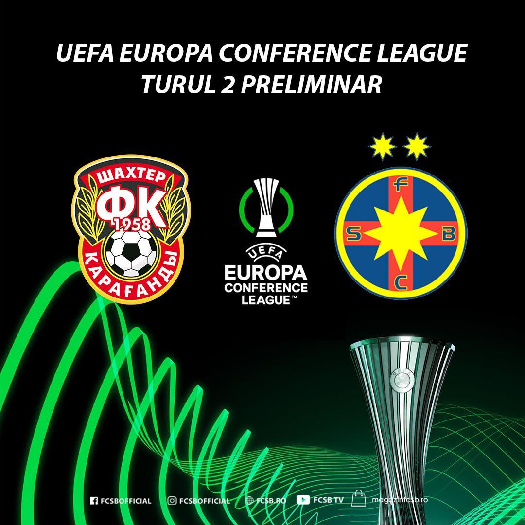 Shakhter - FCSB se va disputa la Erevan!