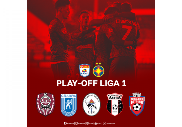 Play-off-ul începe la Botoșani!