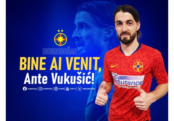 Welcome, Ante Vukušić!