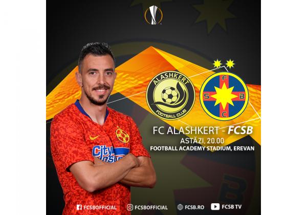 FC Alashkert, adversarul roș-albaștrilor din această seară!