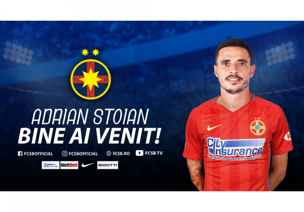 Wecome to FCSB, Adrian Stoian!